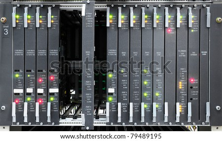 The communication and internet network server