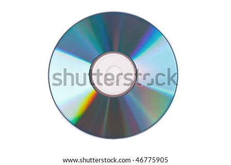 the compact disc - stock photo