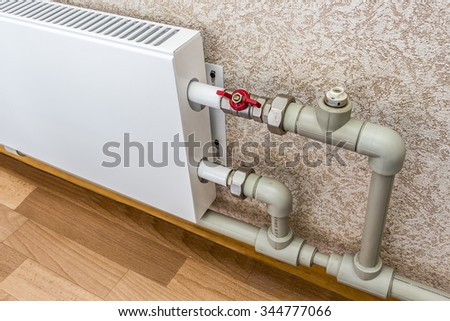 The convector heating
