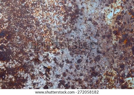 The core of corrosion - stock photo
