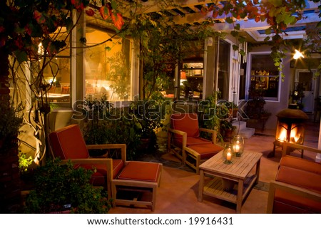 The Courtyard - stock photo