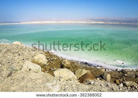The Dead sea in Israel - stock photo