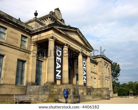 The Dean Gallery, Edinburgh, Scotland - stock photo
