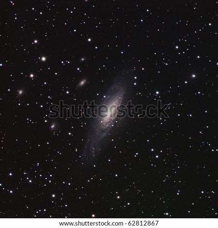 The Deer Lick Galaxy Group - stock photo