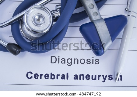 research paper brain aneurysm