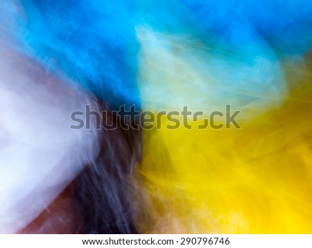 The digital blur Abstract picture. - stock photo