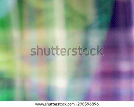 The digital blur Abstract picture. Behind bars. - stock photo