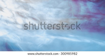 The digital blur Abstract picture. Oni, flying through the sky. - stock photo