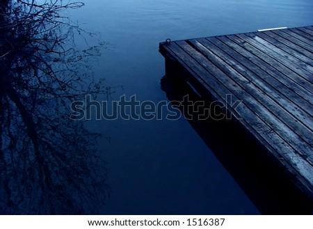 The Dock - stock photo