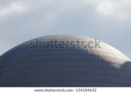 The dome of a nuclear reactor of nuclear power plant