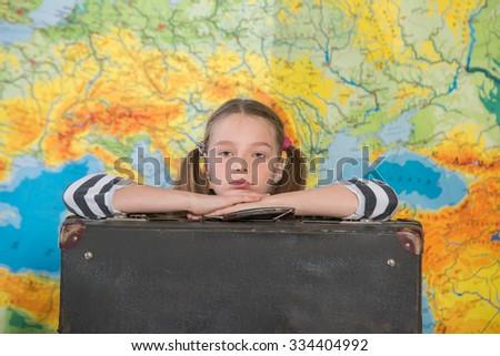 the dream of travel,  - stock photo