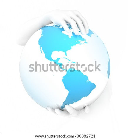 The Earth is our home, save it!!! - stock photo