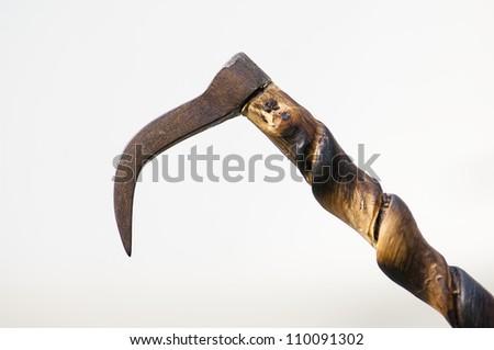The elephant hook. - stock photo