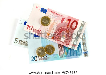 The European Union currency - stock photo