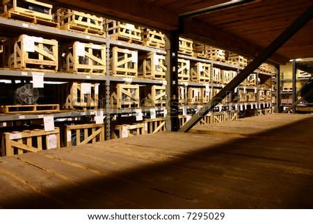 The Factory Warehouse. - stock photo