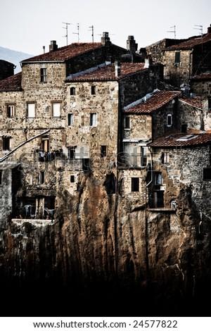 The Fairytale Village of Pitigliano - stock photo