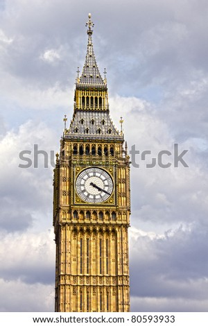 The famous Big Ben, London