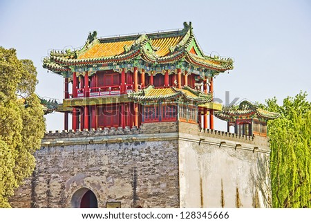 The famous Summer Palace, Beijing, China - stock photo