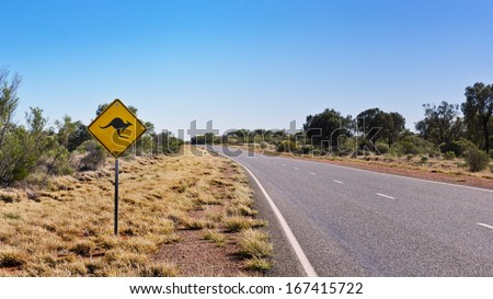 The famous traffic signal in the outback of Australia. - stock photo
