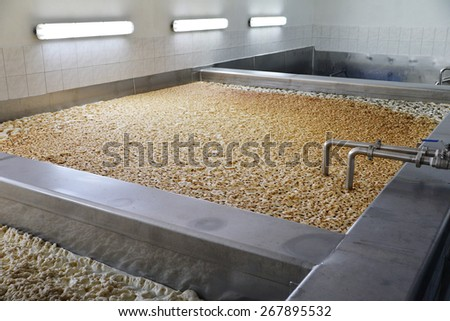 The fermentation of beer - stock photo