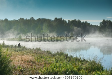 the fisherman in the fog