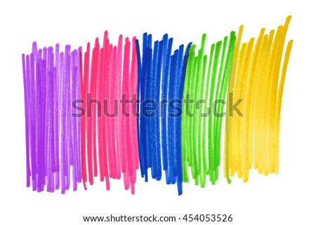 the flag of sexual minorities pens. Raster version