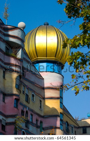 The forest spiral in Darmstadt - stock photo