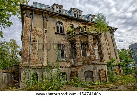 The former SS headquarters - Free City of Gdansk - stock photo