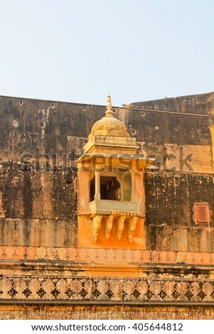 the fortress Palace in India