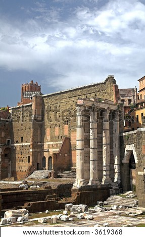 The Forum, Rome, Italy - stock photo