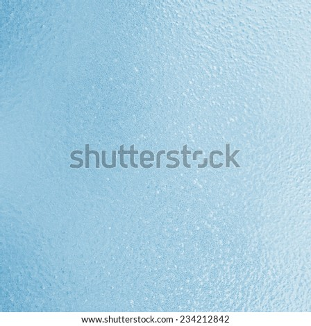 The frozen surface of the glass - stock photo