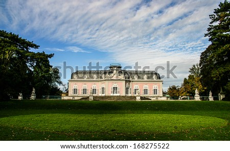 The Gardens of Benrath Palace in Dusseldorf, Germany