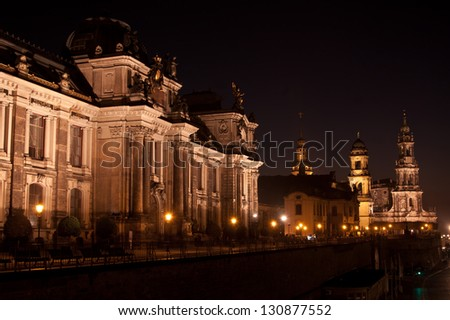 the gelerie Albertinum in Dresden - Germany - stock photo