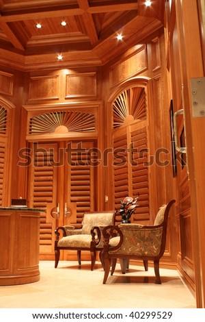 The Gentleman's Office - stock photo