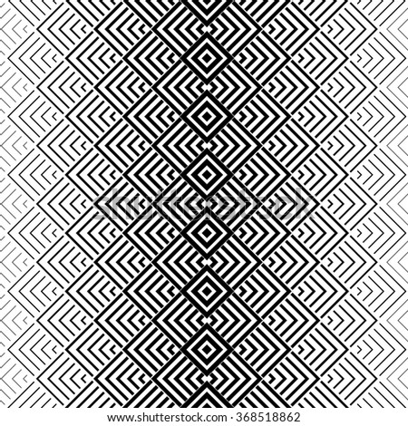 The geometric pattern by stripes . Seamless background. Black and white texture