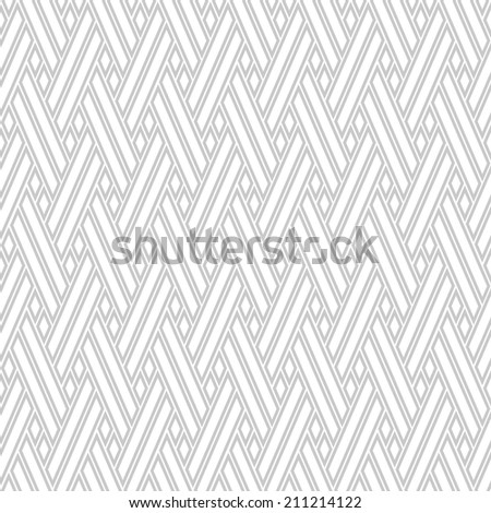 The geometric pattern. Seamless  background. White and  gray  texture.