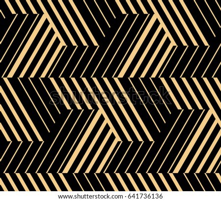 Black Gold Seamless Background Repeat Patterned Stock