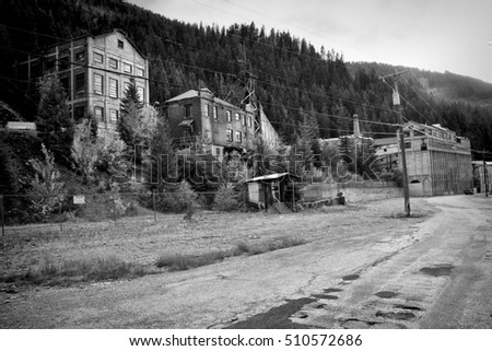 The Ghost Town Of Burke Idaho