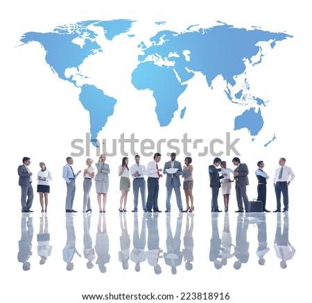 The Global Team Development - stock photo