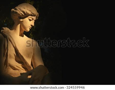 The goddess of love in Greek mythology, Aphrodite (Venus in Roman mythology) - stock photo