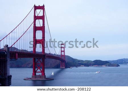 The Golden Gate - stock photo