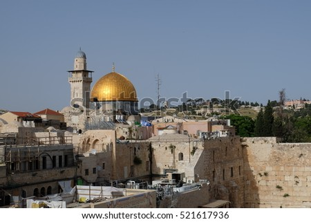 The Golden Rock and the Western Wall