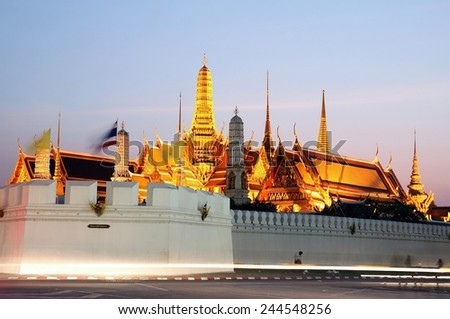 The Grand Palace and Temple of Emerald Buddha