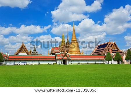 The Grand Palace , Bangkok , Thailand - stock photo