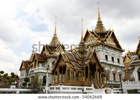 The Grand Palace, Bangkok, Thailand - stock photo
