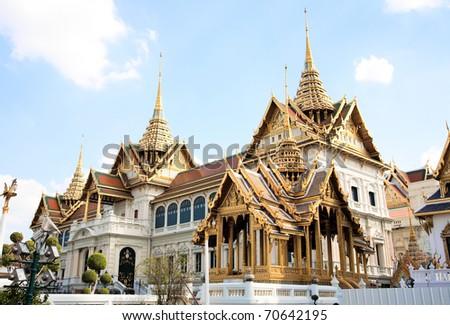 The Grand Palace, Bangkok, Thailand - stock photo