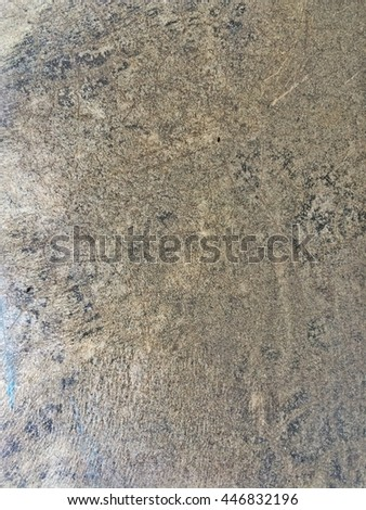 The Gray Concrete Floor Background And Texture