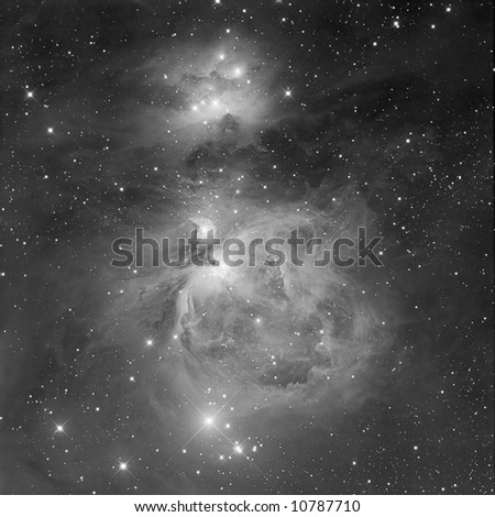 The Great Orion Nebula - stock photo