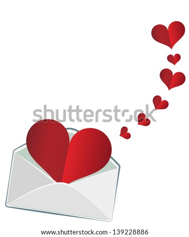 The heart in the envelope