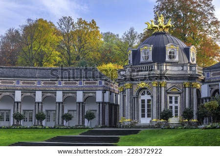The Hermitage Museum / old castle - town of Bayreuth